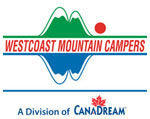 logo westcoast mountain campers