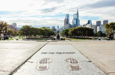 Philadelphia Museum of Art & Rocky Steps