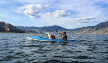 Kayaking Tourism Kamloops
