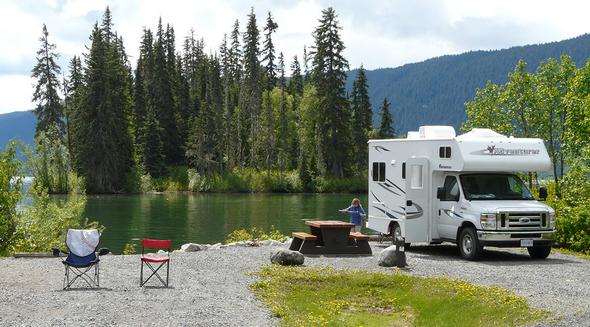 Fraserway - Campground in Westkanada