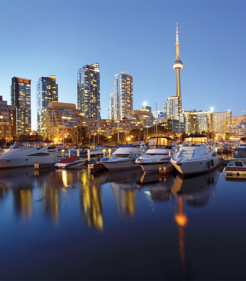 Städtereise Kanada - Toronto und Niagarafälle » CRD