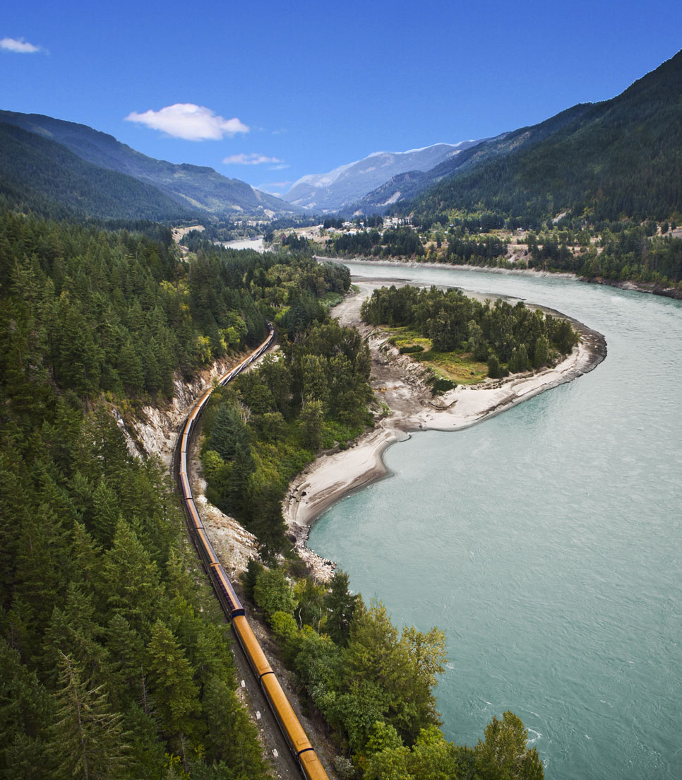 Hauptmotiv/Bahnreise/Rocky Mountaineer Canada/First Passage to the West/01