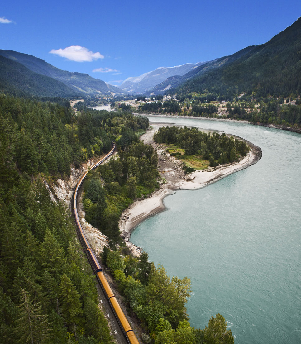 Hauptmotiv/Bahnreise/Rocky Mountaineer Canada/Rail & Cruise Deluxe/01