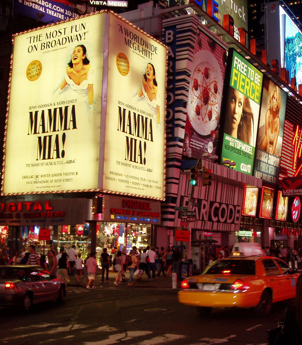 USA/New York/New York City/Broadway