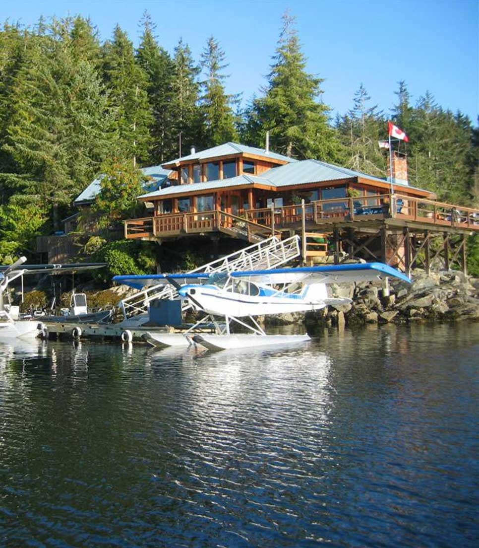 Hauptmotiv/Lodge/Kanada/British Columbia/Farewell Harbour Lodge/01