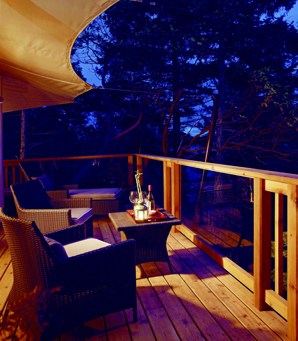 Hotel/Kanada/British Columbia/Halfmoon Bay/Rockwater Secret Cove Resort/Balkon