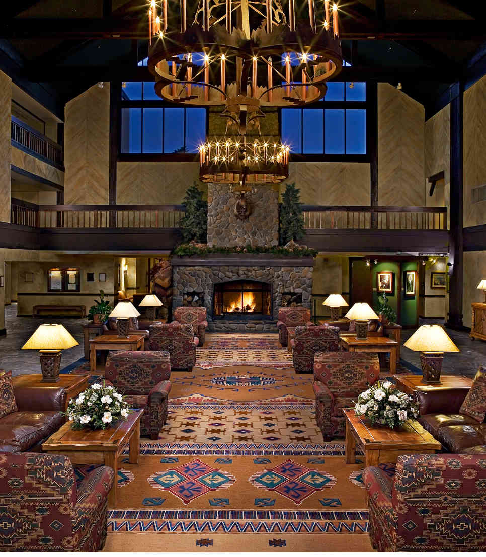USA/Californien/Yosemite Nationalpark/Tenaya Lodge/Lobby Hauptmotiv