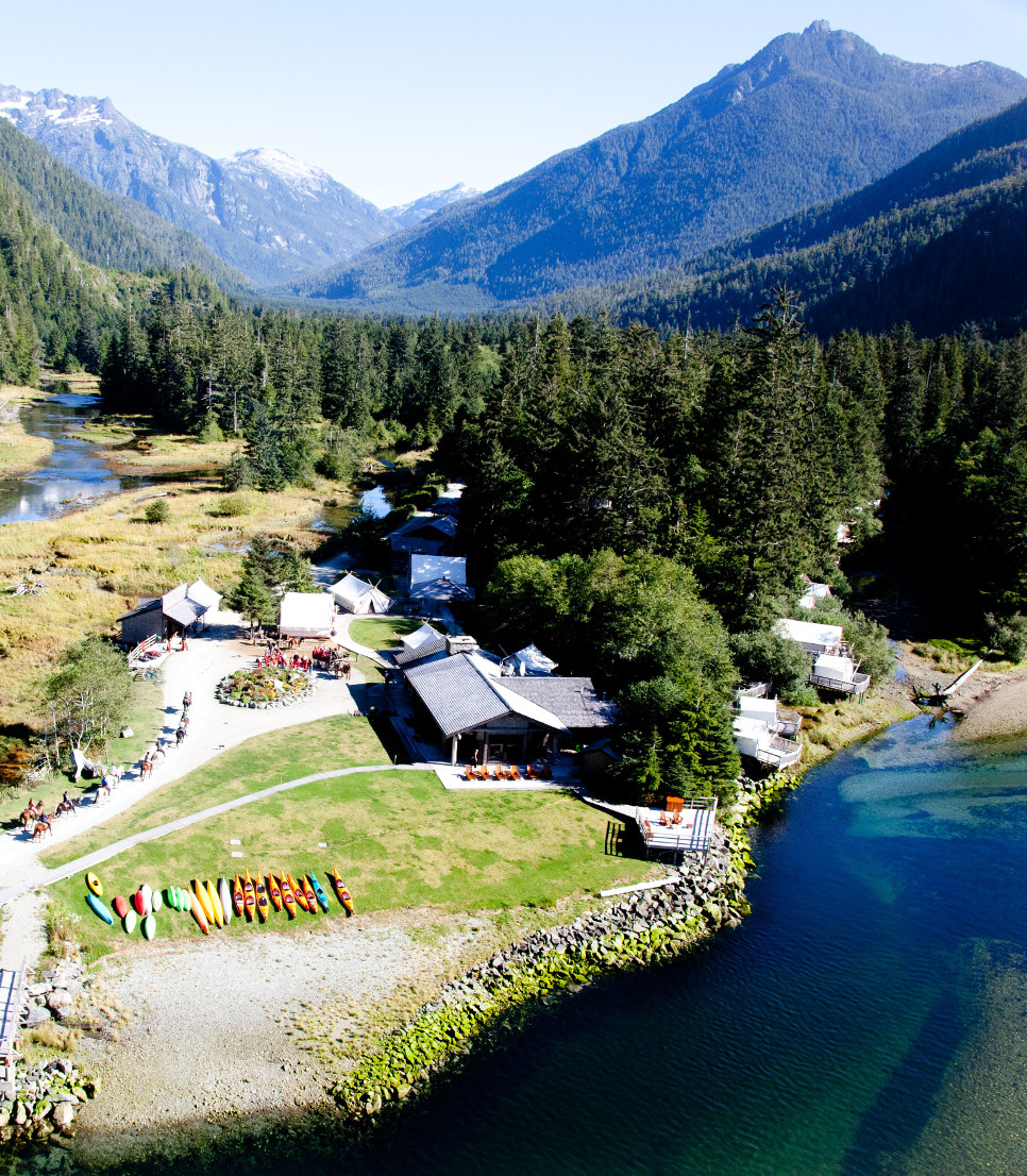 Hauptmotiv/Lodge/Kanada/Clayoquot Wilderness Resort/01