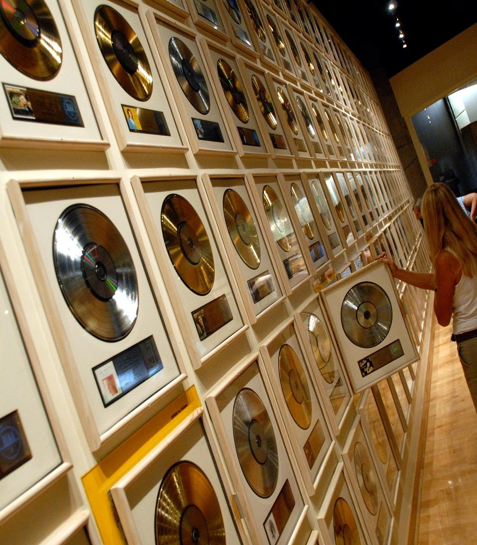USA/Tennessee/Nashville/Country Music Hall of Fame & Museum