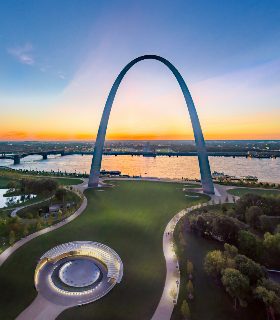 USA/Missouri/St. Louis/Gateway Arch