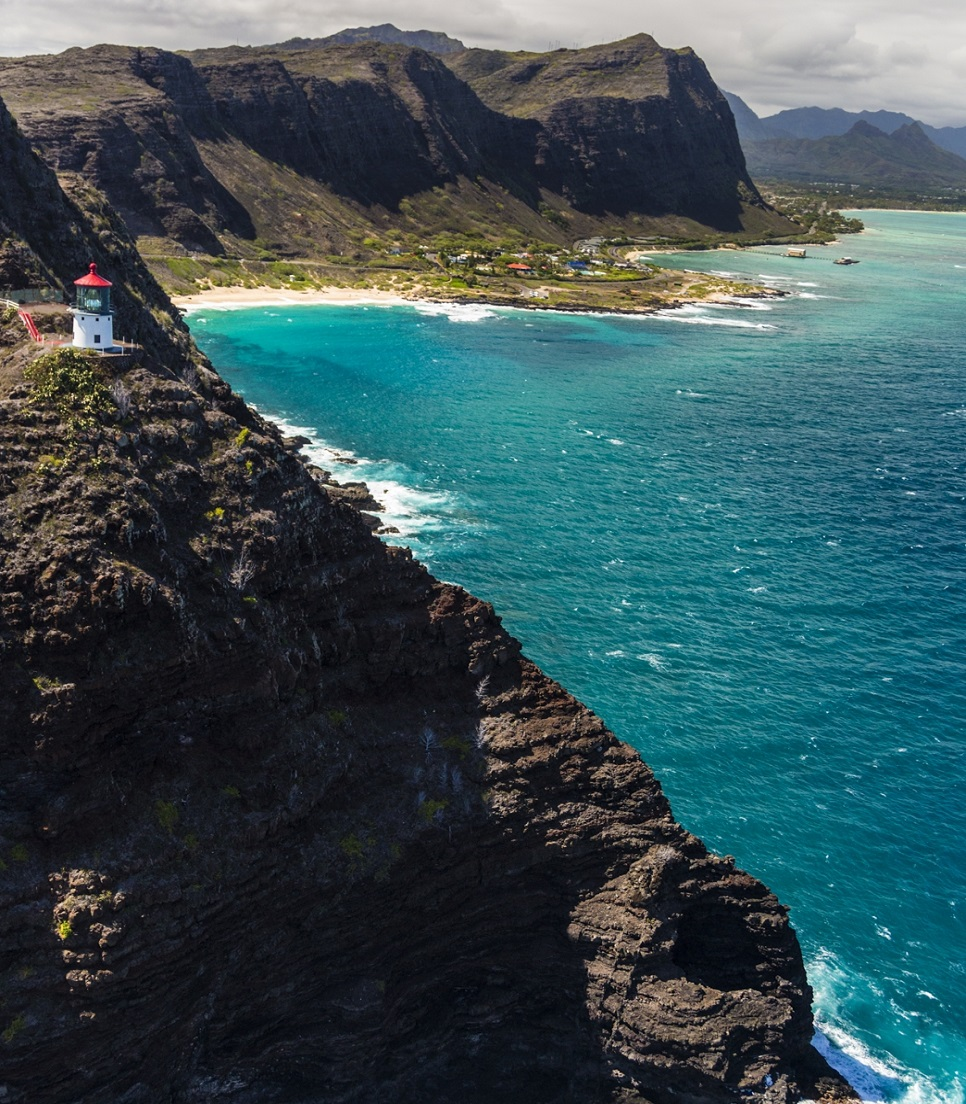 USA/Hawaii/Oahu/Makapuu Point Lookout