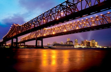 New Orleans am Mississippi River