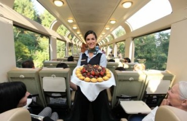 Service im Rocky Mountaineer