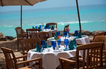 Abendessen am Strand im The Club Barbados Resort & Spa