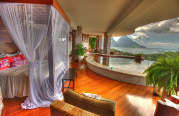 Jade Mountain Zimmer mit Infinity-Pool
