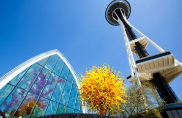 Chihuly Garden & Glass und Space Needle