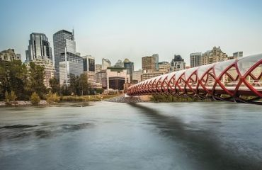Peace Bridge in Calgary | Foto: Travel Alberta