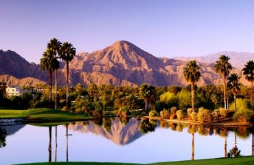 Golfplatz bei Palm Springs