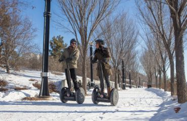 Segway Tour in Edmonton I Credit: Travel Alberta