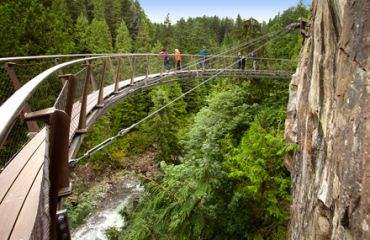 Cliffwalk im Capilano Suspension Bridge Park
