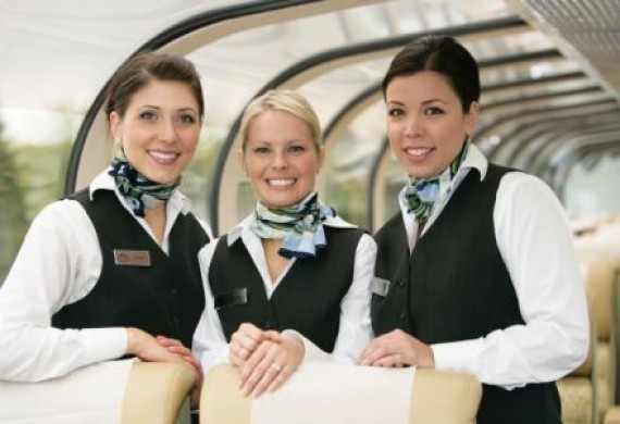 Rocky Mountaineer Servicepersonal