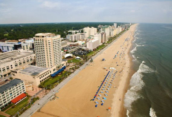 Boardwalk von Virginia Beach