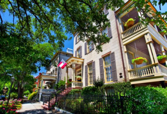 Historic District in Savannah