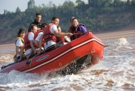 Tidel Bore Rafting