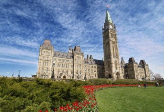 Centre Block in Ottawa