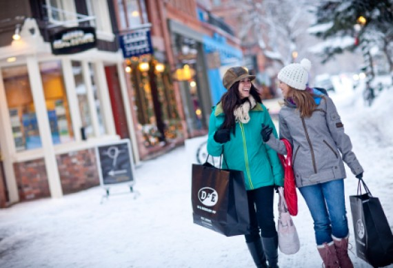Shoppingtour durch Aspen